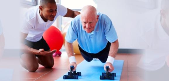 Un personal trainerper invecchiare bene
