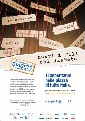 Locandina giornata Diabete 2015